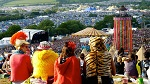 Glastonbury Festival in Pilton, England