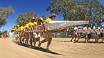 Henley-on-Todd Regatta Festival in Alice Springs, Australia