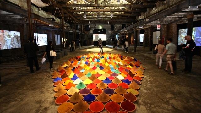 Venice Biennale Festival in Venice, Italy