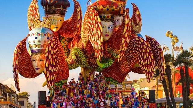 Viareggio Carnevale Festival in Viareggio, Italy