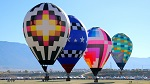 Albuquerque International Balloon Fiesta in New Mexico, United States
