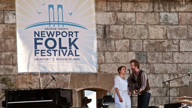 Newport Folk Festival in Newport, Rhode Island, United States