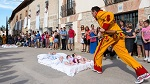 El Colacho Festival in Castrillo de Murcia, Spain