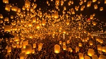 Yi Peng and Loy Krathong (Lantern Festival) in Chiang Mai, Thailand