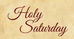Holy Saturday 2018