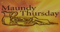 Maundy Thursday 2017