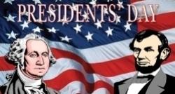 Washington's Birthday (Presidents' Day) 2017