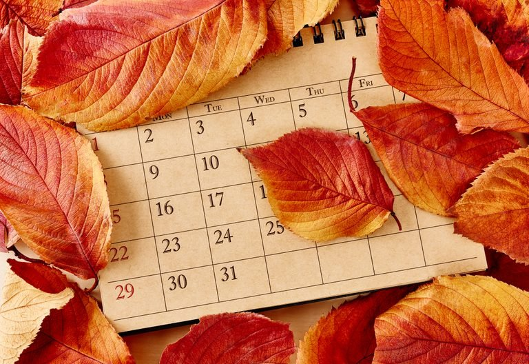 When is The First Day of Fall 2021, 2022, 2023, 2024, 2025