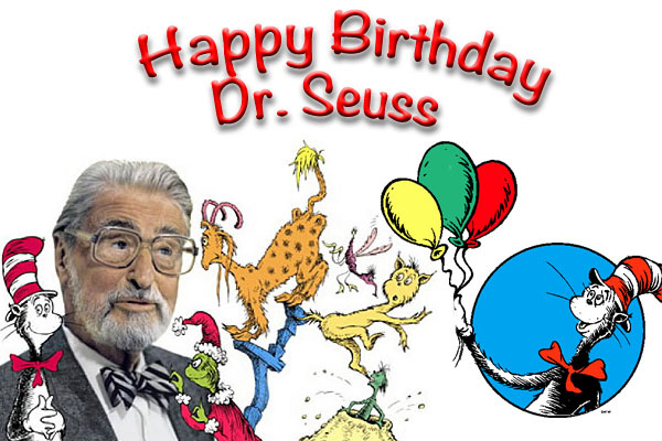 When is Dr. Seuss Birthday 2019, 2020
