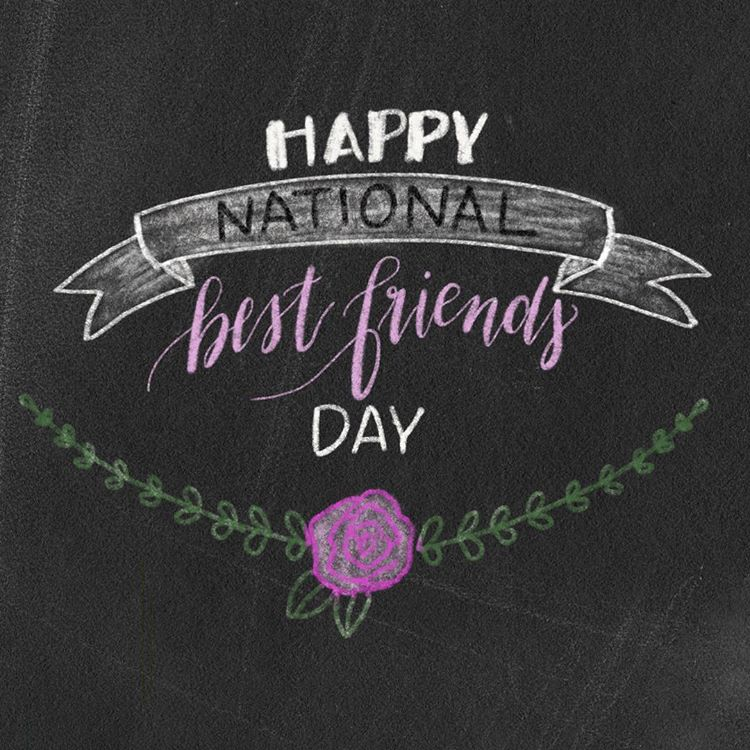 When Is National Best Friends Day 2017 Free Printable