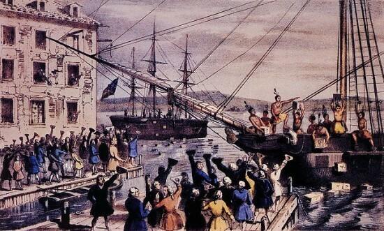 Boston Tea Party Day