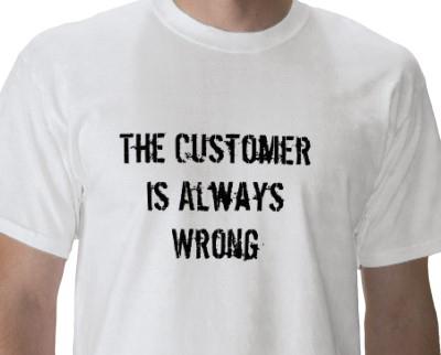 Customer is Wrong Day