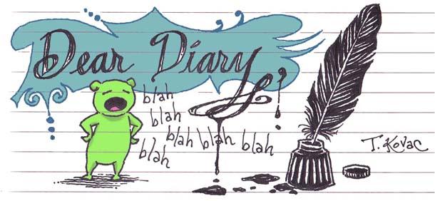 Dear Diary Day