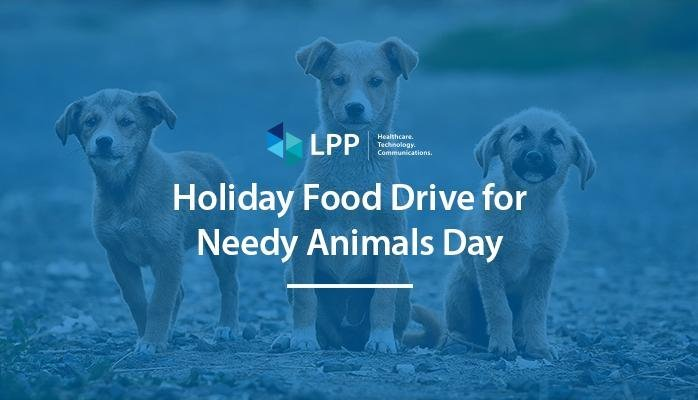 Holiday Food Drive for Needy Animals Day