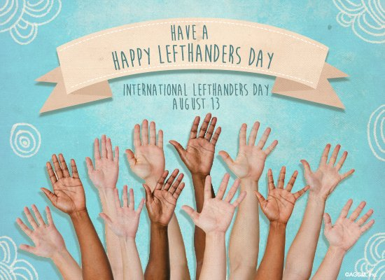 International Left-Handers Day
