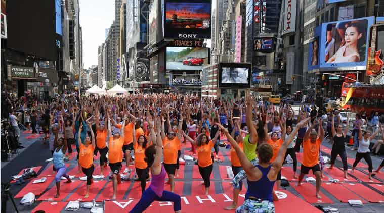 Musical Yoga Day