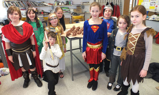 Myths and Legends Day