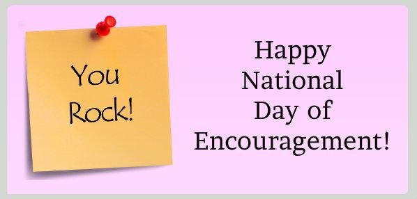 Image result for national day of encouragement images