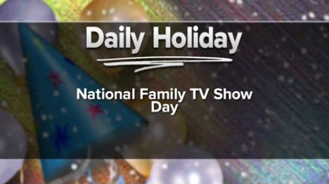 National Family TV Show Day