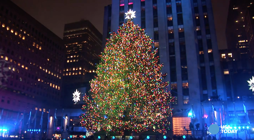 Rockefeller Center Christmas Tree Lighting 2018 | 2018 2019 Calendar ...