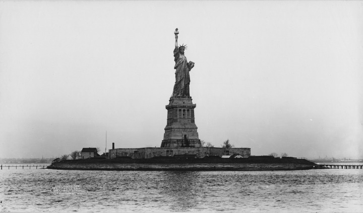 Statue of Liberty Dedication Day