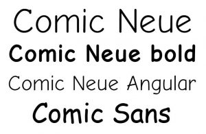 When is Comic Sans Day