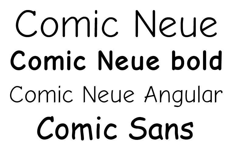 Comic Sans Day
