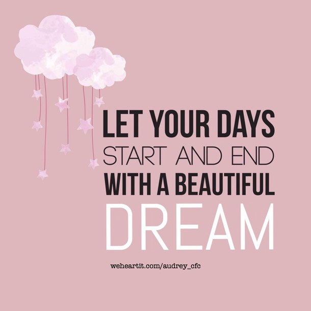 Dream Your Sweet Day