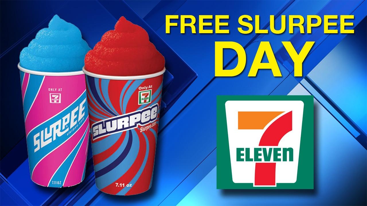 Free Slurpee Day