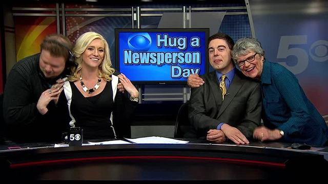Hug a Newsperson Day