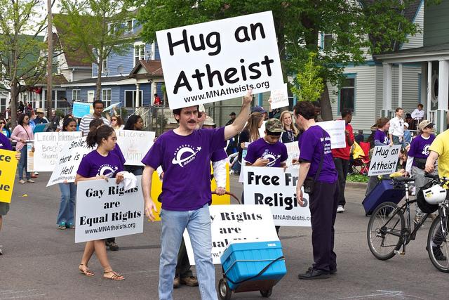 Hug an Atheist Day