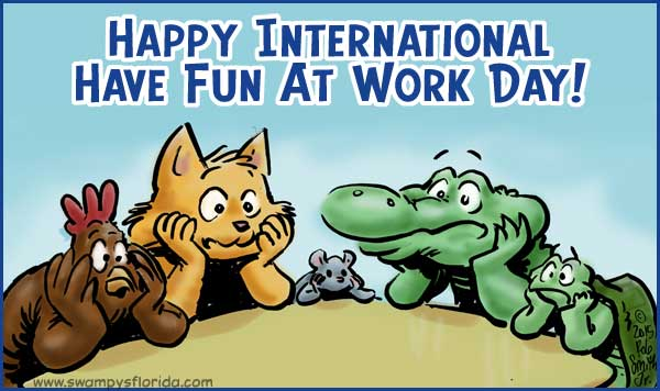 International Fun at Work Day