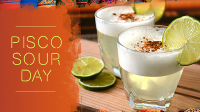 International Pisco Sour Day