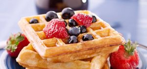 When is International Waffle Day