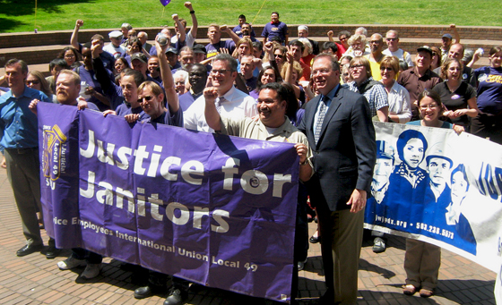Justice for Janitors Day