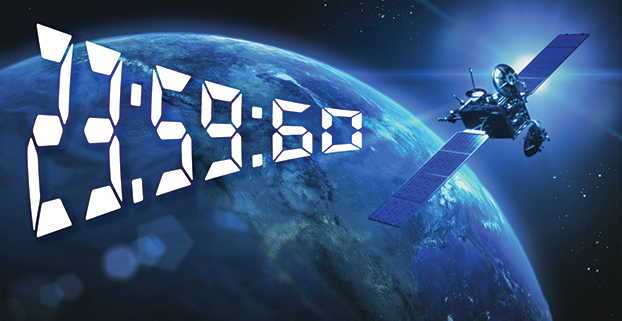Leap Second Time Adjustment Day