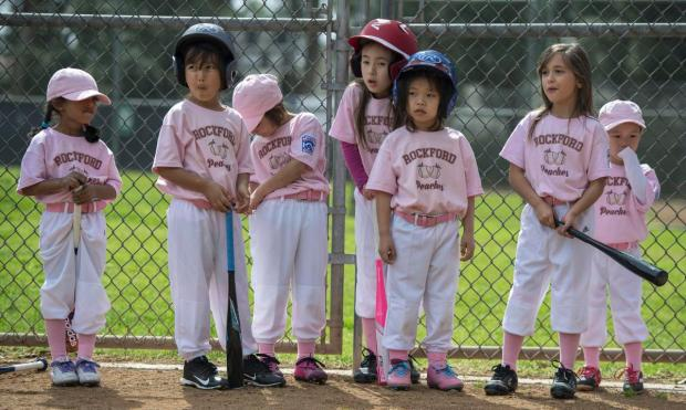 Little League Girls Baseball Day