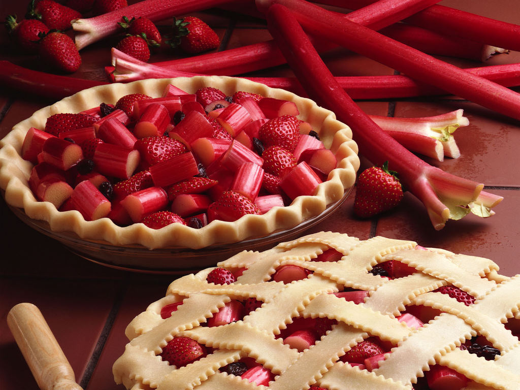 National Strawberry-Rhubarb Pie Day