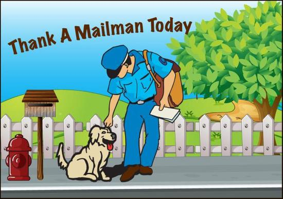 National Thank a Mailman Day