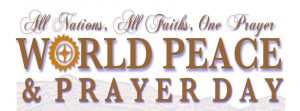 World Peace and Prayer Day 2018