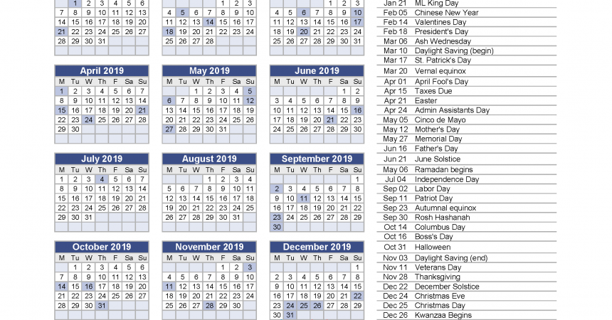 Year Calendar Js : Yearly calendar with holidays printable pdf and image
