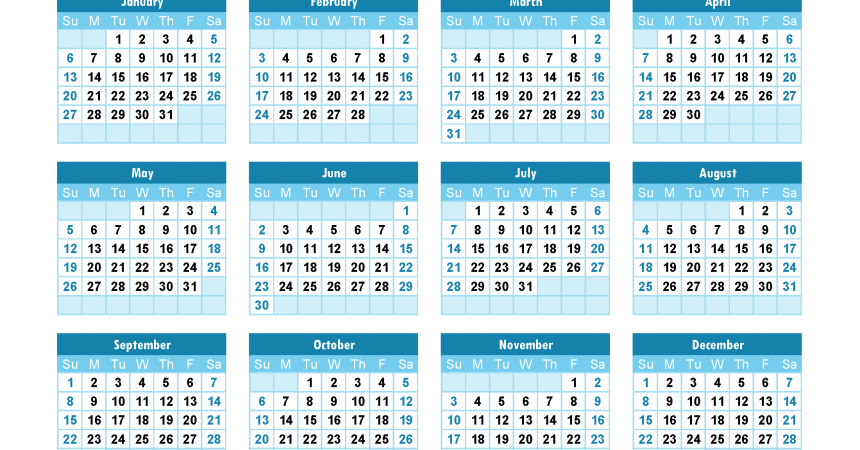 yearly calendar 2019 printable annual calendar 2019 for free