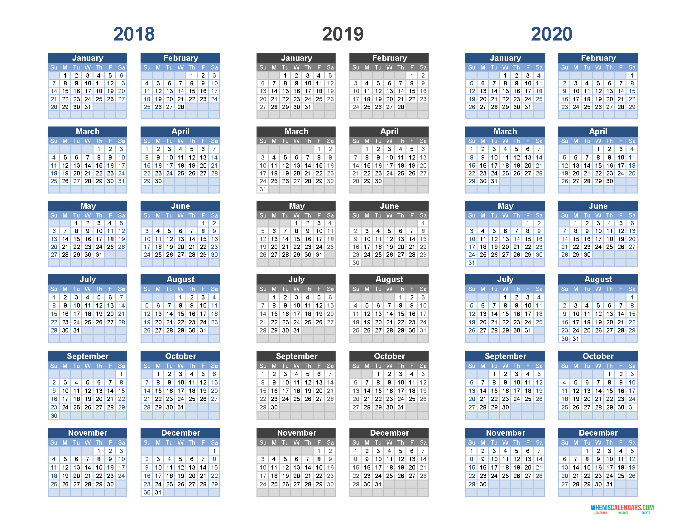 13 calendar of years xavierax