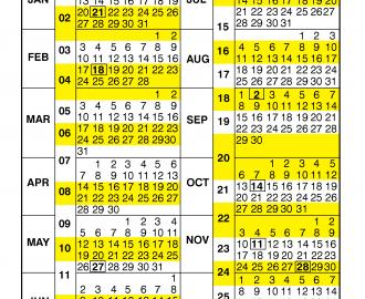 Federal Pay Period Calendar 2020.Pay Period Calendar 2019 By Calendar Year Free Printable 2019