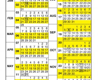 Usda Pay Period Calendar 2021 Pay Period Calendar 2021 by Calendar Year – Free Printable 2020