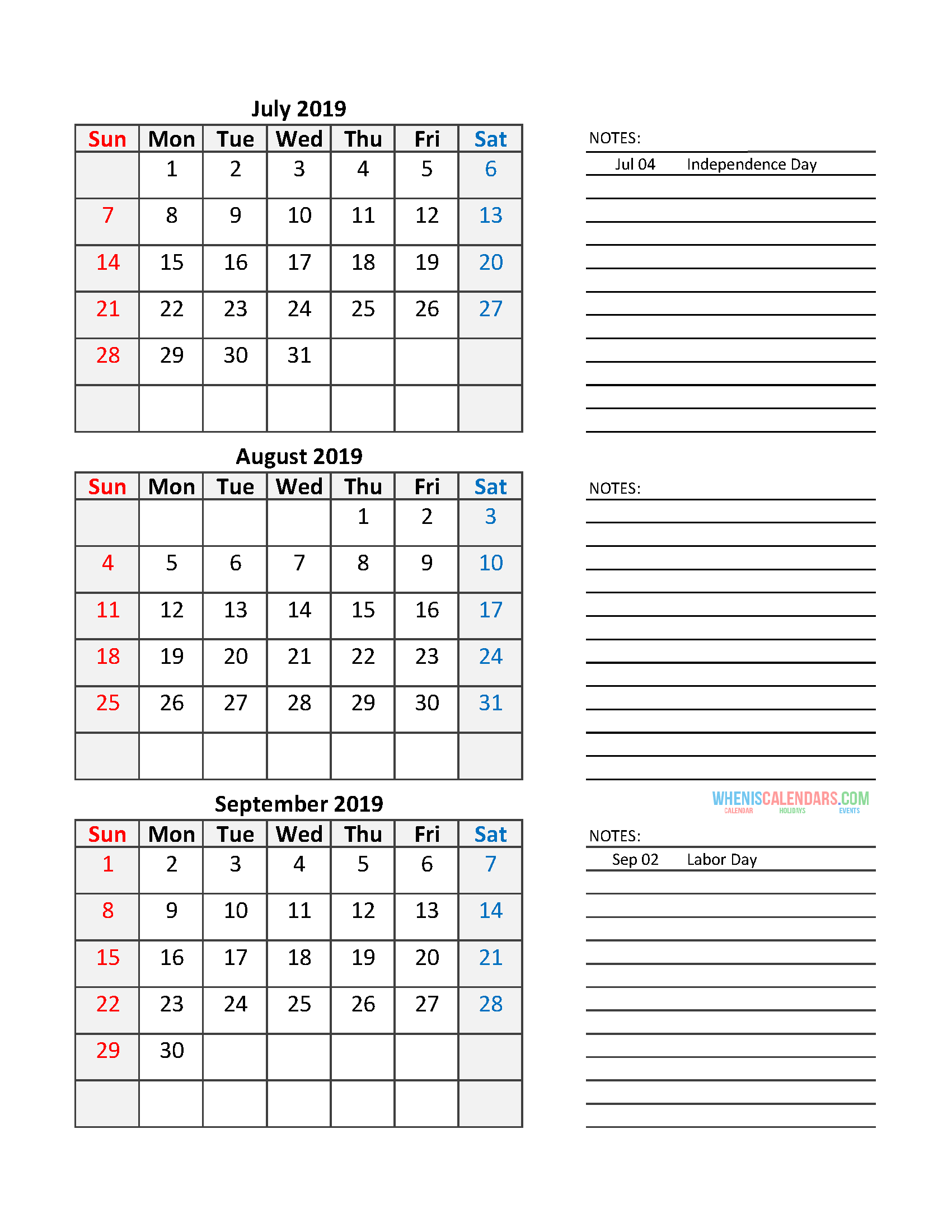 photograph relating to Printable 3 Month Calendar named Quarterly Calendar 2019 Printable Calendar Template Totally free
