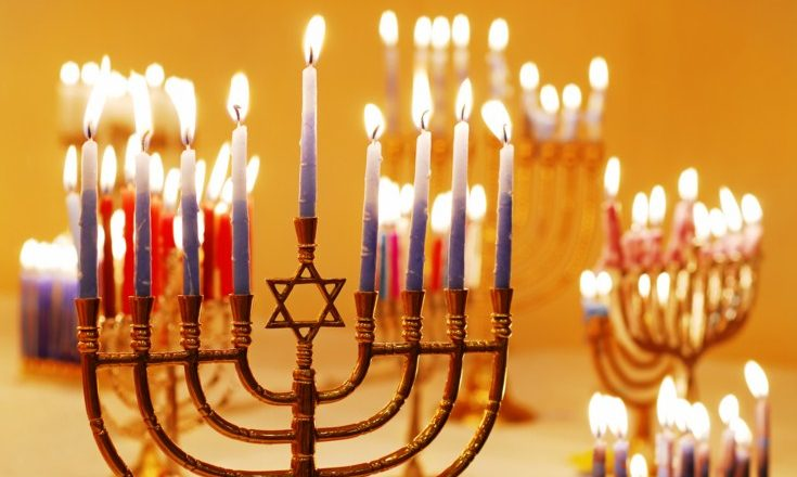 Hanukkah Candles - Happy Hanukkah