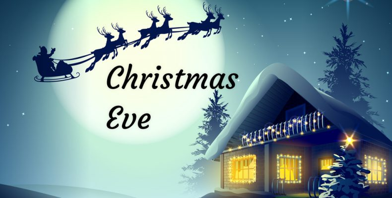 Christmas Eve And Christmas Day 2019 When is Christmas Eve 2019 Christmas Eve Countdown Calendar | Free