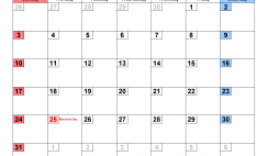 Printable Calendar Template May 2020 Calendar small numerals