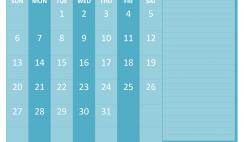 December 2020 Calendar with Holidays Free Printable